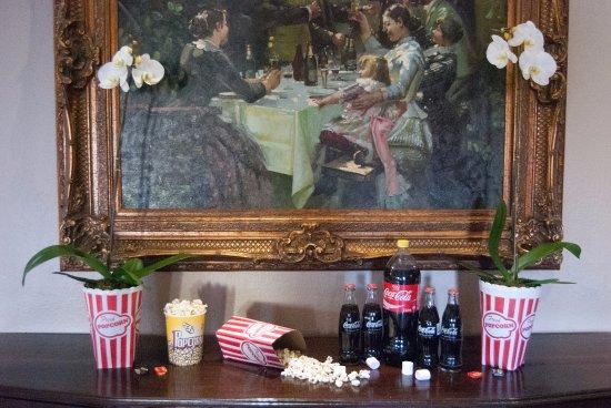 Boksburg, Südafrika: Decor in Restaurant
