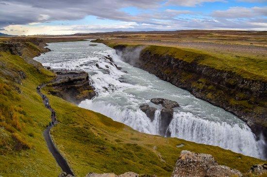 Mosfellsbaer, Ισλανδία: Gullfoss falls