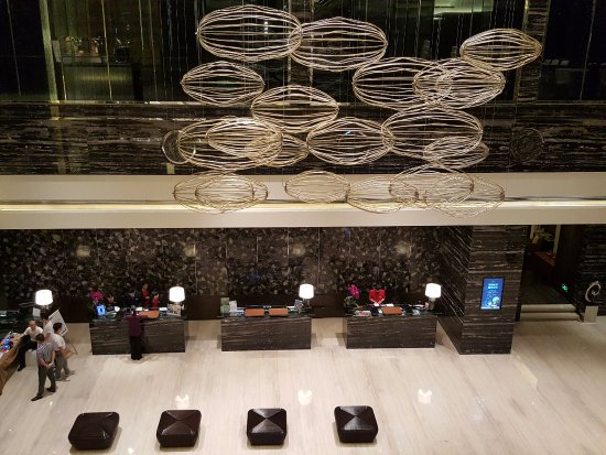 Zhuzhou, China: the Lobby...the friendly staff are even more of a treat than the luxurious settings
