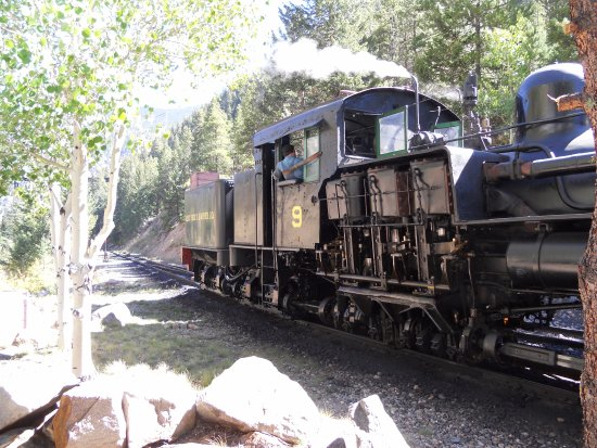 Georgetown, CO: Great fun steam train