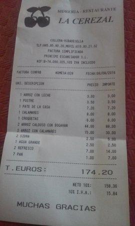 La Cerezal: Tiket