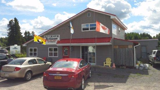 Amherst, كندا: Riverside Restaurant, Tidnish Bridge, NS, Sep 2016