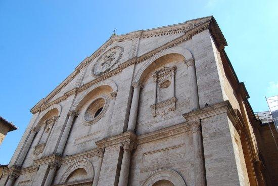 Pienza, Italia: Exterior desde Palacio Piccolomini