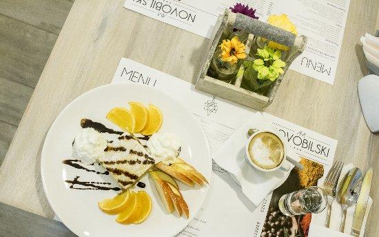 Bialka Tatrzanska, Polandia: Kawa i ciasto