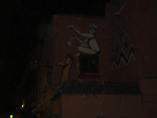 Palais Gharnata : vers le palais