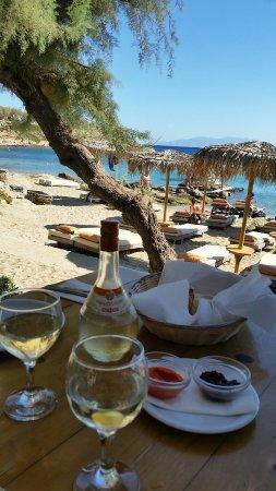 Paraga, Grecia: Gemütliches Plätzchen......