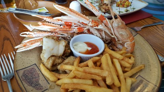 The Old Inn: Excellent seafood