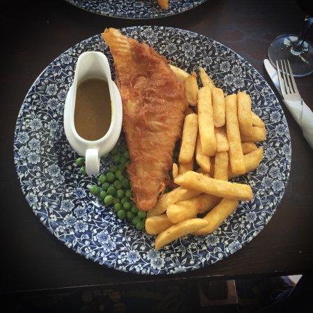 Horsham, UK: Fish and chips
