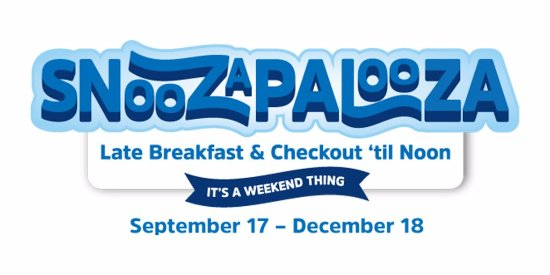 Holiday Inn Express Hotel & Suites Tampa Northwest - Oldsmar: SNOOZAPALOOZA is coming every weekend from September 17th to December 18th 2016 ! Are you wonder