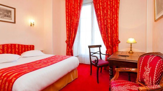 Hotel du Quai-Voltaire : Double room