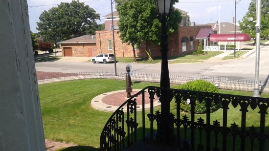 Mount Vernon, IL: View from top of stair well in front