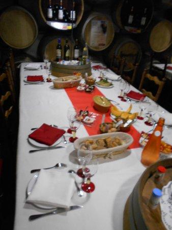 Blaye, Γαλλία: La table du château