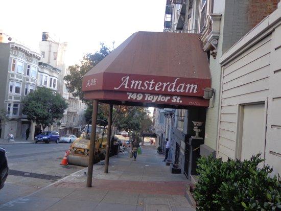 Amsterdam Hostel : VUE de l'extérieur