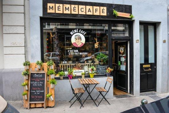 Photo of Mediterranean Restaurant Meme Cafe at Rue Des Riches Claires 17, Brussels 1000, Belgium
