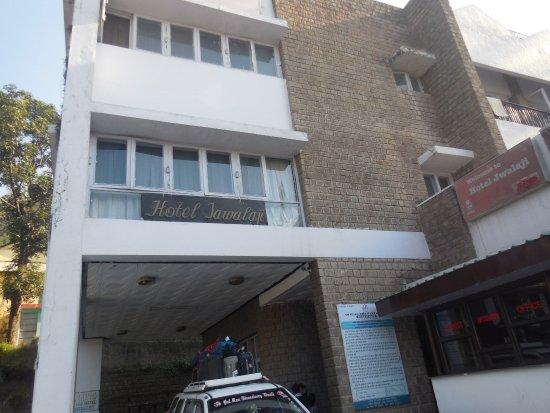 Jwalamukhi, India: Hotel front photo