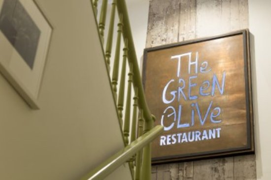 Green Olive Restaurant : Green Olive Staircase