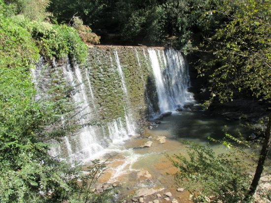 Roswell, GA: The spillway