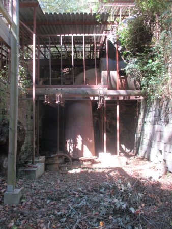 Roswell, Géorgie : Mill ruins