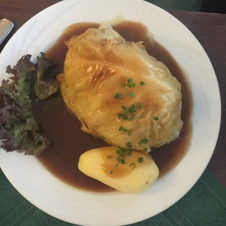 Gasthaus Krombach: Biggest cabbage roll of my life