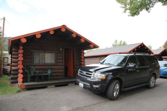 Kudar Motel & Cabins: Nicht wirklich grosse Hütten!