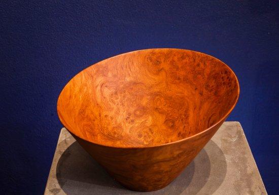 Choeng Thale, Thailand: Rose wood burl Bowl