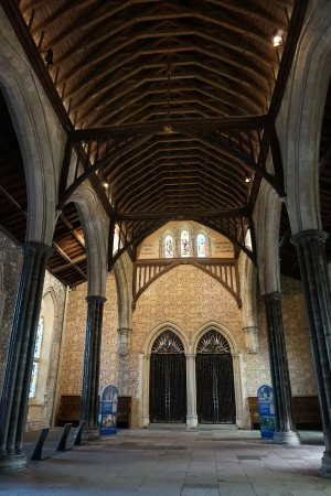 Винчестер, UK: inside the Great Hall