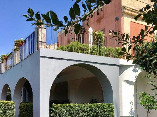 Etna Hotel: Camere vista piscina