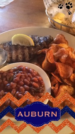 Auburn, AL: dined with mommy
