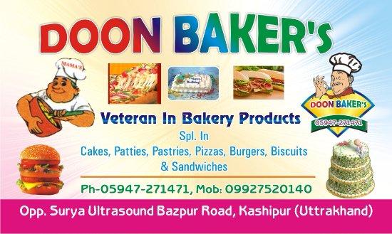 doon bakers kashipur restaurant reviews phone number photos tripadvisor