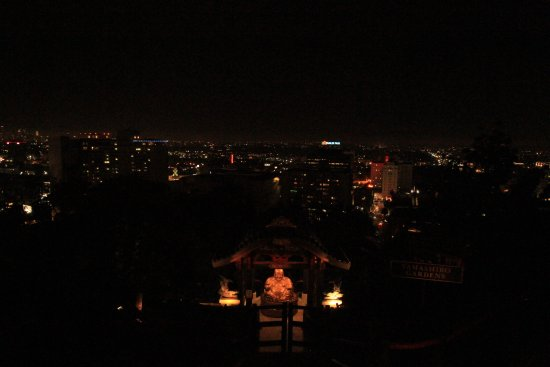 Yamashiro: Vista de Los Angeles...!!!