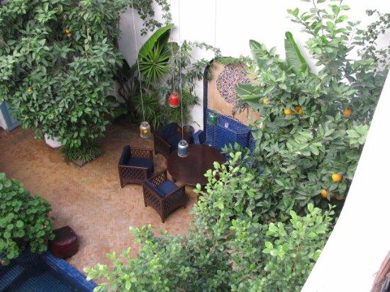 Riad Sekkat: Main courtyard