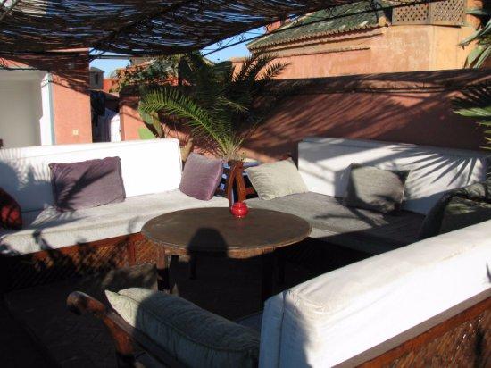 Riad Sekkat: Rooftop garden