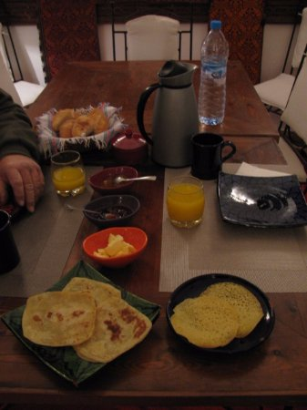 Riad Sekkat: Breakfast at the Riad
