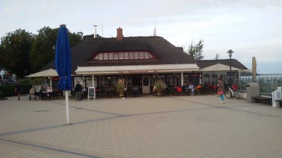 Scharbeutz, Tyskland: Außenansicht des Restaurants