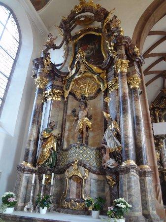 Kirche St.Gallus Kirchzarten (autel latéral gauche)
