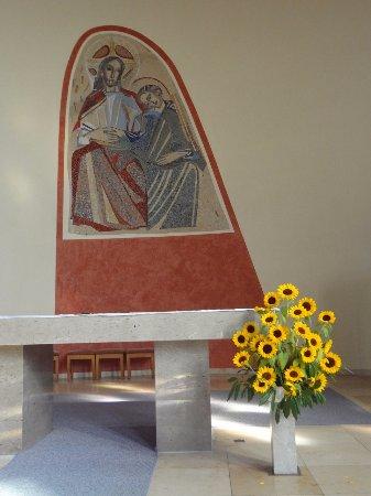 Stegen Kirche Herz-Jesu (fresque au choeur)