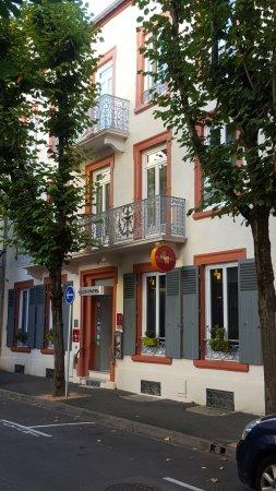 Arverna Citotel Vichy: la façade