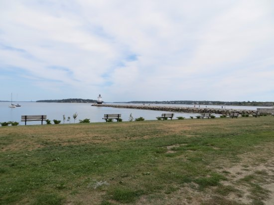 South Portland, ME: View from the shore
