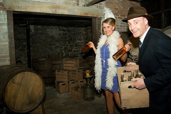 Moose Jaw, Canadá: Bootlegging is big business at the Tunnels