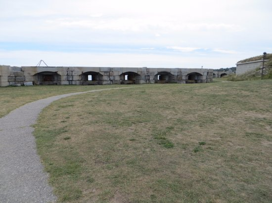 South Portland, ME: View of fort
