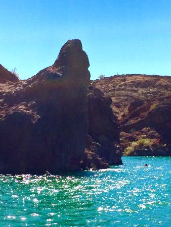 Lake Havasu City, AZ: Elephant Mountain in Copper Canyon! Must see!