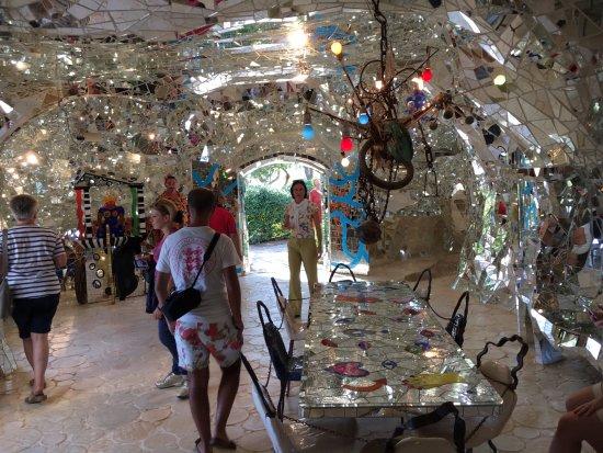 Capalbio, Italien: salone specchiato