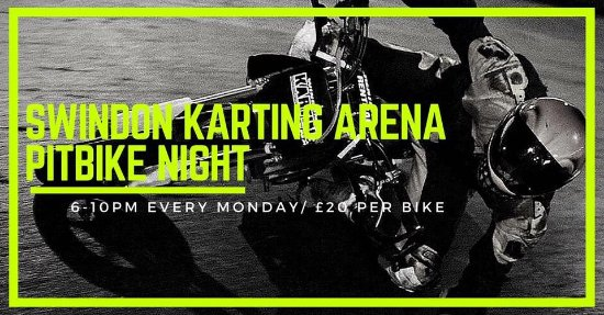 Swindon, UK: Pitbike owner rider night every Monday