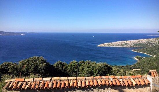 Omisalj, Croacia: View from Cres