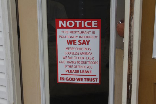 Kimbos The Door Sign And Restraint Attitude