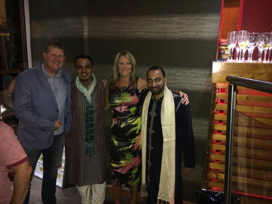 India Red: One of the extra special nights raising money for the children's air ambulance.