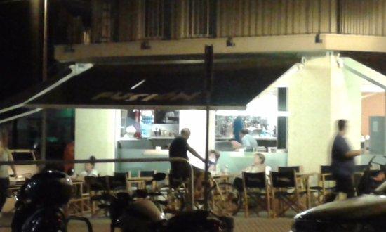 Fusion Café: terraza exterior