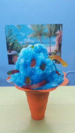 New Port Richey, Floryda: Blue Raspberry w/gummy worms