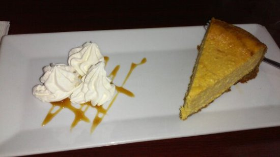 Bowers, PA: pumpkin cheesecake