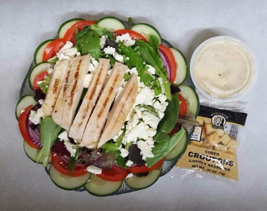Huntersville, Carolina do Norte: Our Greek Salad